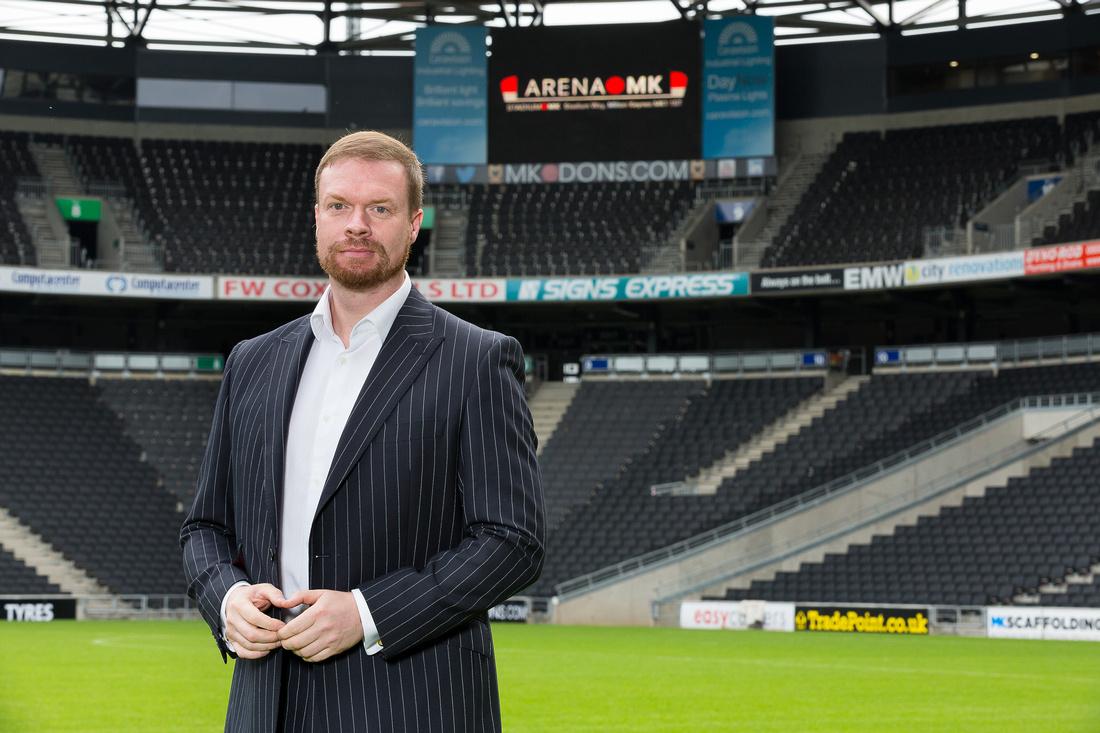 Stadium MK, Press PR photographer