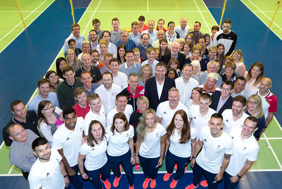 Team GB Olympic Badminton team